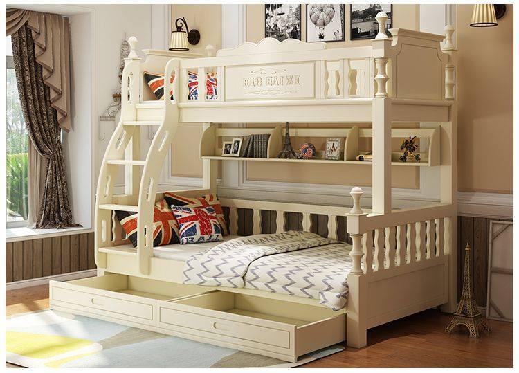 Sáng tạo không gian với giường tầng đa năng bằng gỗ