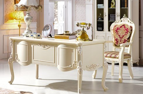 Thứ 4 thiết kế bàn làm việc gỗ cổ điển không bao giờ lỗi mốt
