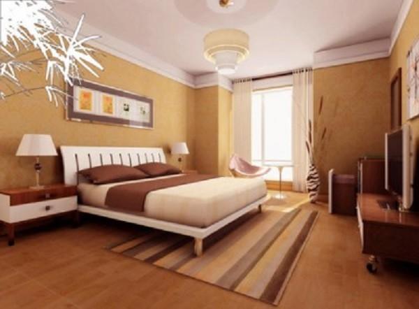Nên đặt giường ngủ sát tường